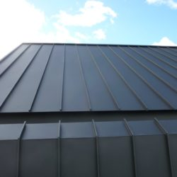 Monument MATT Colorbond roofing and wall cladding